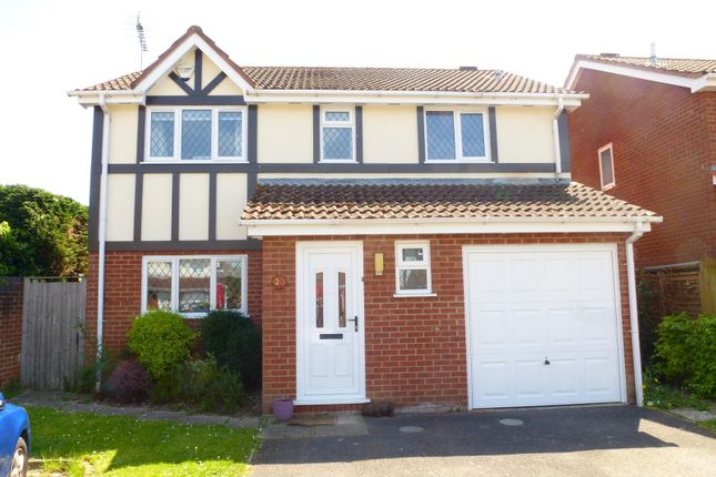 Thumbnail Detached house to rent in Greenfinch Walk, Hightown, Ringwood
