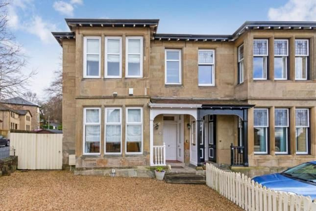 Thumbnail Semi-detached house for sale in Central Avenue, Cambuslang, Glasgow, South Lanarkshire