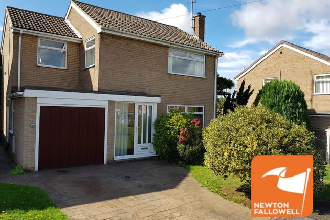 Thumbnail Detached house for sale in Derwent Close, Warsop, Mansfield