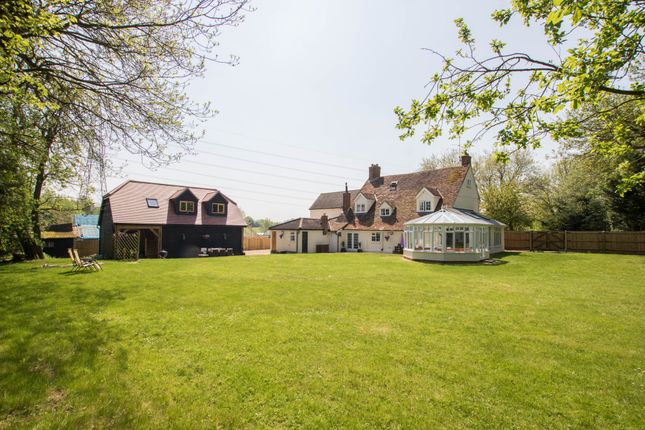 Thumbnail Farmhouse for sale in Debden Green, Saffron Walden
