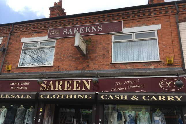 Thumbnail Flat to rent in Narborough Road, Leicester