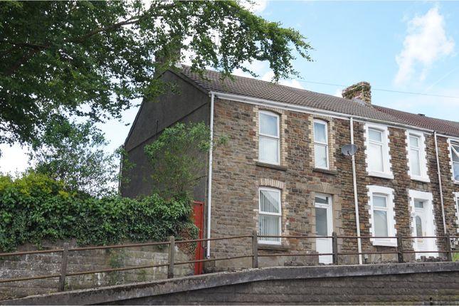 Thumbnail Terraced house for sale in Llangyfelach Road, Treboeth
