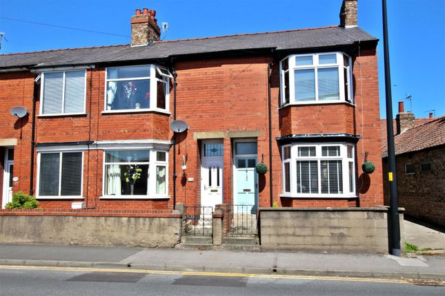 Thumbnail End terrace house for sale in Commercial Street, Norton, Malton