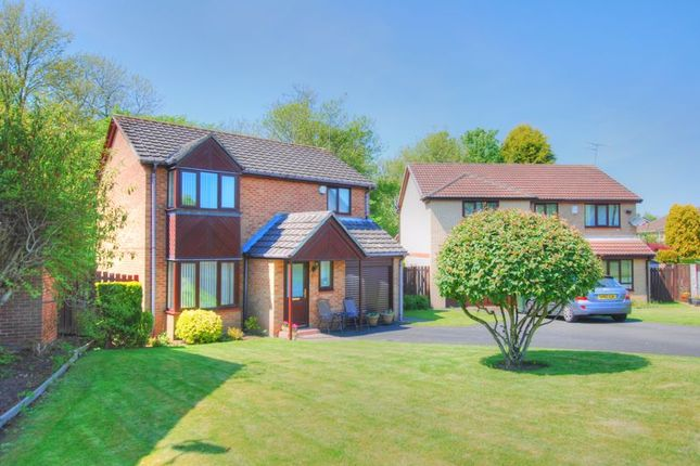 Thumbnail Detached house for sale in Sinderby Close, Gosforth, Newcastle Upon Tyne