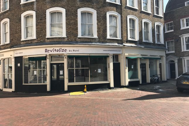 Thumbnail Restaurant/cafe to let in Market Place, Margate