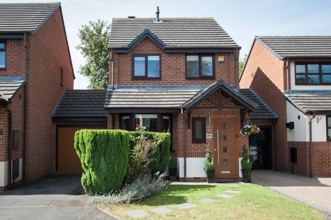 Thumbnail Link-detached house for sale in Old Oak Close, Aldridge, Walsall
