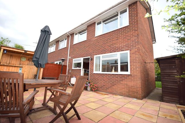 Thumbnail End terrace house for sale in Crawford Gardens, St Thomas, Exeter