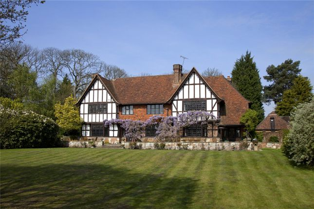 Thumbnail Detached house for sale in Broomlands Lane, Limpsfield, Oxted, Surrey