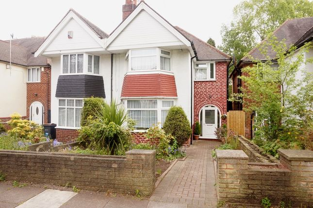 Thumbnail Semi-detached house for sale in Maxwell Avenue, Handsworth, Birmingham
