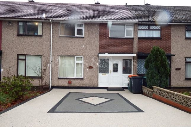 Thumbnail Terraced house for sale in Ogmore Crescent, Bettws, Newport, Gwent.