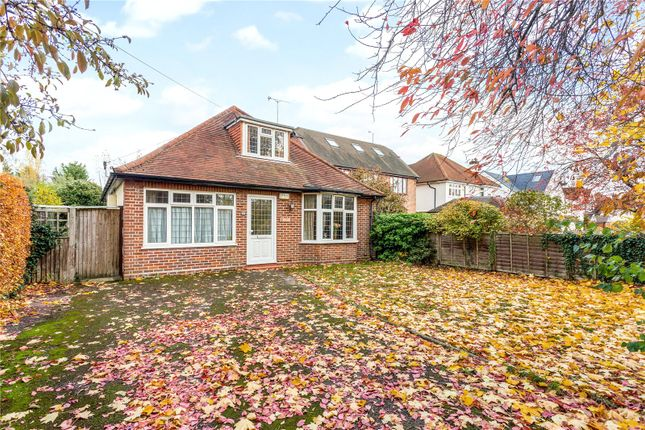 Thumbnail Detached bungalow for sale in Beaumont Avenue, St. Albans, Hertfordshire