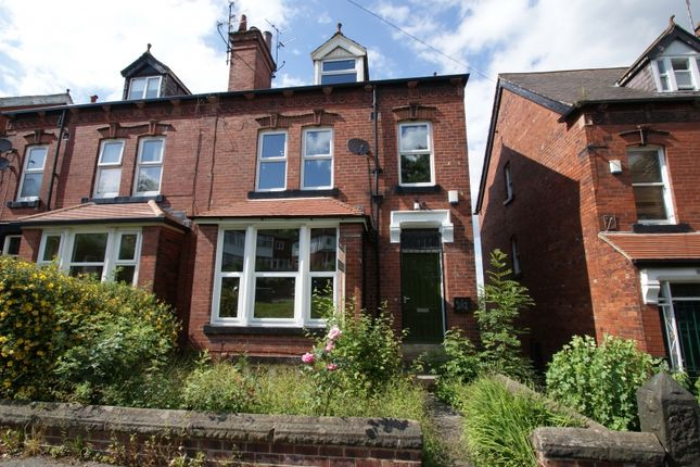Thumbnail Terraced house to rent in Wood Lane, Headingley, Leeds