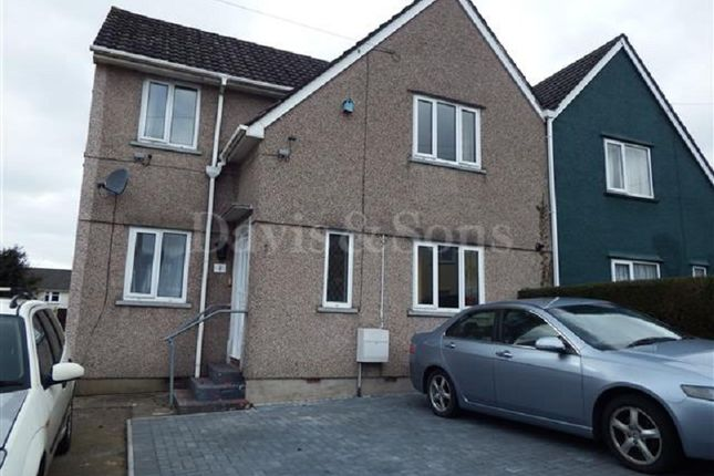 Thumbnail Semi-detached house to rent in Ifor Hael Road, Rogerstone, Newport.