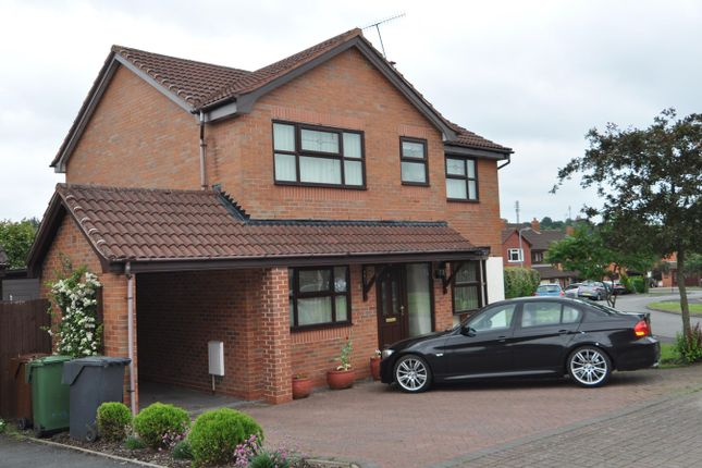 Thumbnail Detached house to rent in Hill Rise View, Lickey End, Bromsgrove