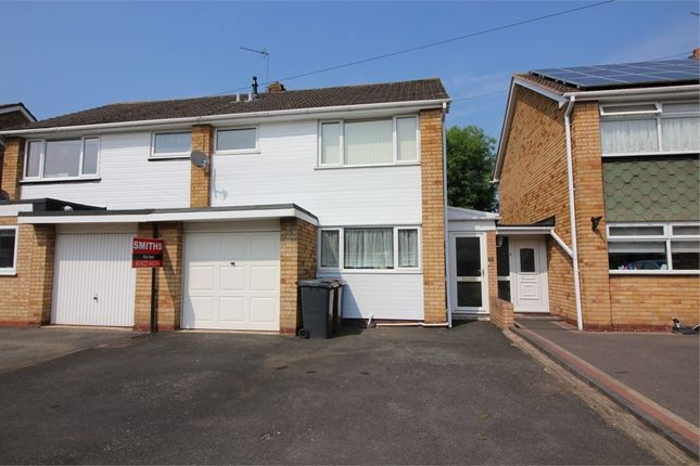 Thumbnail Semi-detached house for sale in Reindeer Road, Fazeley, Tamworth, Staffordshire