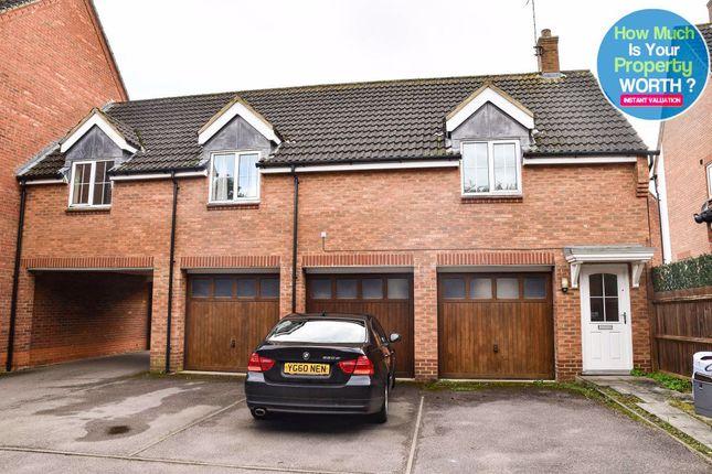 2 bed maisonette to rent in Gibbards Close, Sharnbrook, Bedford MK44