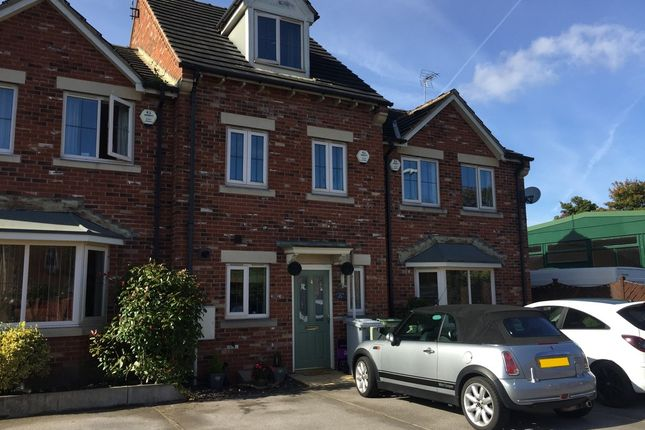 Thumbnail Town house for sale in Osberne Way, Clipstone Village, Mansfield