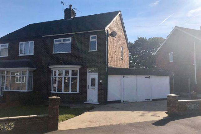 Thumbnail Semi-detached house for sale in Warwick Road, Scunthorpe