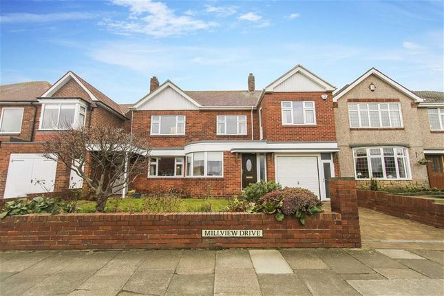 Thumbnail Detached house for sale in Millview Drive, Tynemouth, Tyne And Wear