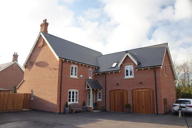 Thumbnail Detached house for sale in Geary Close, Anstey, Leicester