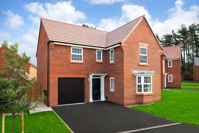 """Thumbnail Detached house for sale in """"Drummond"""" at Hassall Road, Alsager, Stoke-On-Trent"""
