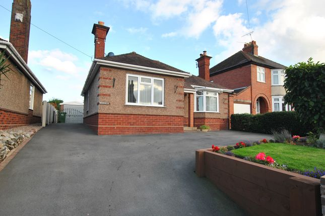 Thumbnail Detached bungalow for sale in Wrekin Road, Wellington, Telford, Shropshire