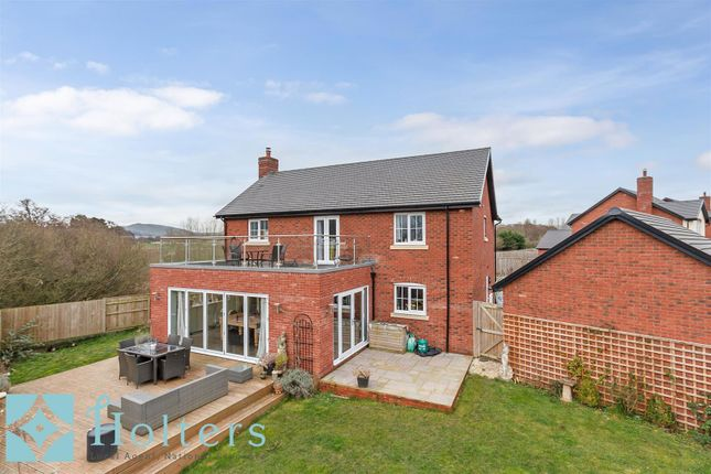 4 bed detached house for sale in Falkland Road, Dorrington, Shrewsbury SY5