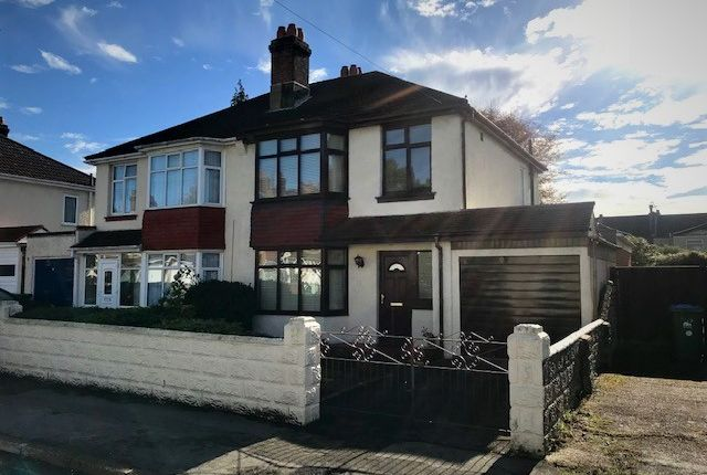 Thumbnail Semi-detached house for sale in Salcombe Road, Southampton