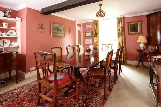 Dining Room of Banbury Road, Moreton Pinkney, Daventry NN11