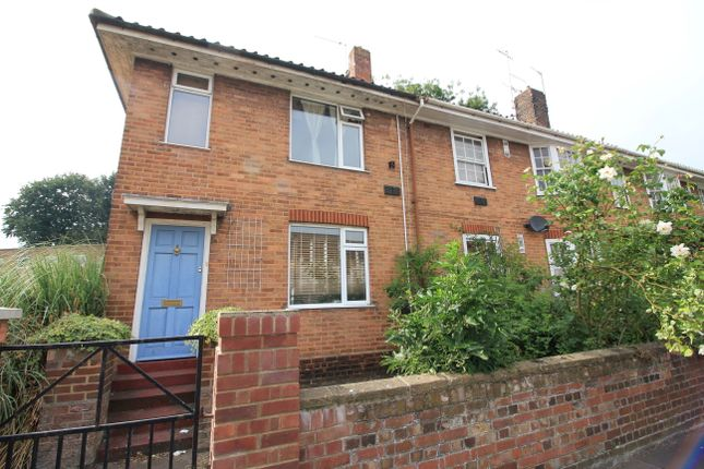 Thumbnail End terrace house to rent in Fishergate, Norwich