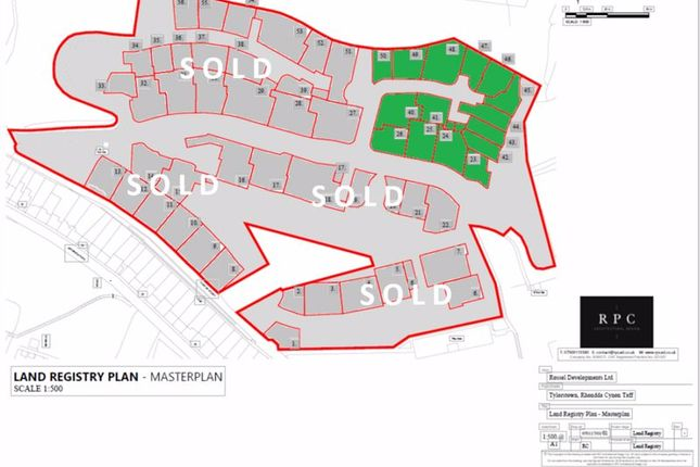 Thumbnail Land for sale in Brynbedw Road, Tylorstown, Ferndale