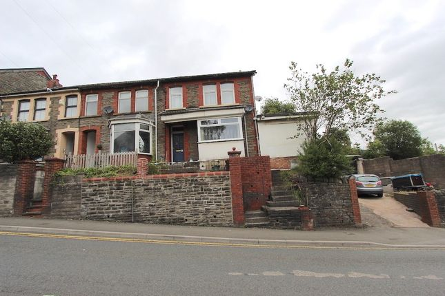 Thumbnail End terrace house for sale in High Street, Cymmer -, Porth