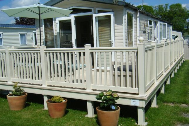 Thumbnail 3 bed mobile/park home for sale in Hoburne Bashley, Sway Road, New Milton