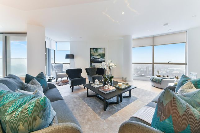 Thumbnail Flat for sale in Charrington Tower, Biscayne Avenue, London