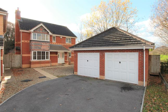 Thumbnail Detached house for sale in Ethley Drive, Raglan, Usk