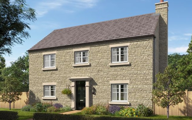 Thumbnail Detached house for sale in The Moreton 2, Hoyles Lane, Cottam, Preston, Lancashire