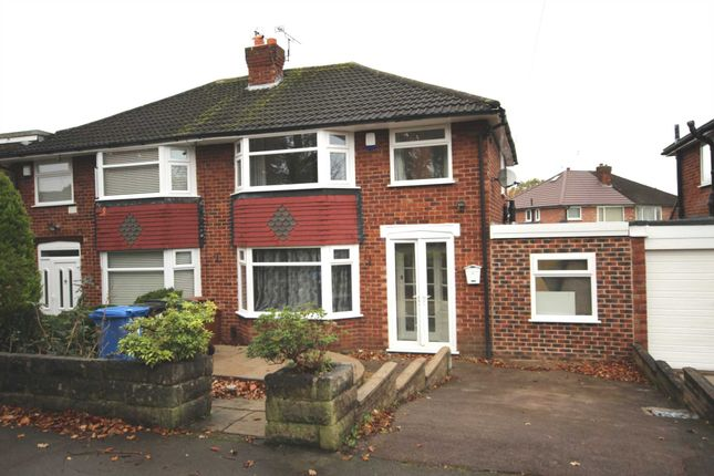 Thumbnail Semi-detached house to rent in Westwood Road, Heald Green, Cheadle