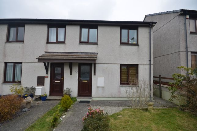 Thumbnail Semi-detached house to rent in Knights Way, Redruth
