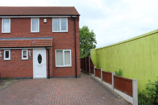 Thumbnail End terrace house to rent in Broomhill Lane, Mansfield