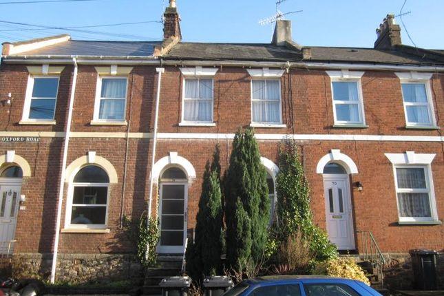 Thumbnail Maisonette to rent in Oxford Road, Exeter, Devon