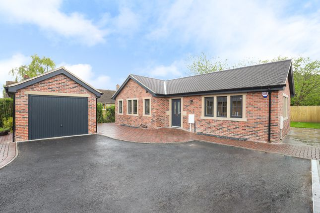 3 bed detached bungalow for sale in 4 Limekiln Fields Close, Bolsover S44