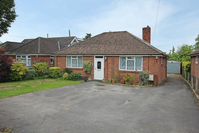 Thumbnail Detached bungalow for sale in Maurys Lane, West Wellow, Romsey