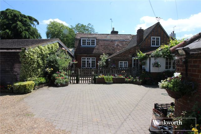 Thumbnail Link-detached house for sale in Wilkins Green Lane, St Albans, Hertfordshire