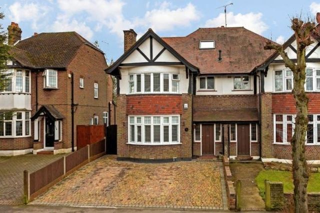 Thumbnail Semi-detached house to rent in Stockingstone Road, Luton