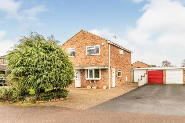 Thumbnail Detached house for sale in Wise Grove, Woodloes Park, Warwick, Warwickshire