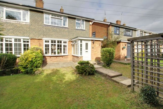 Thumbnail Semi-detached house for sale in Colesdale, Cuffley, Potters Bar