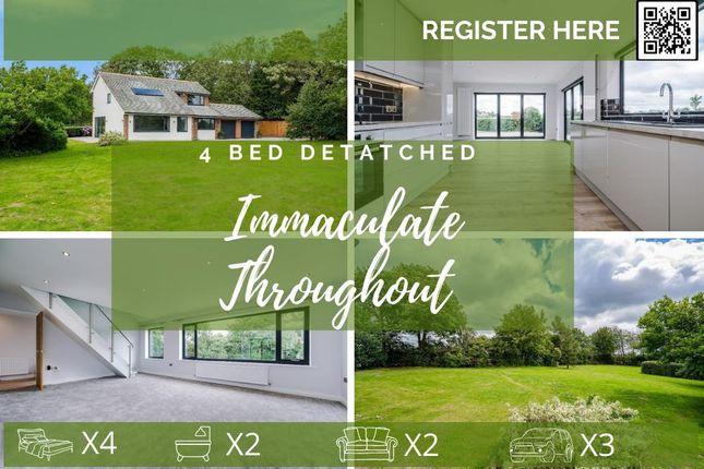 Thumbnail Detached house to rent in Kenyon Lane, Croft, Warrington