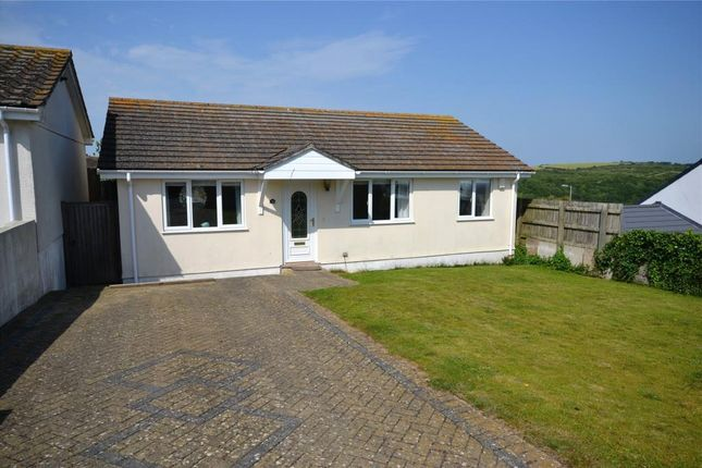 Thumbnail 3 bed detached bungalow for sale in Bodrigan Road, Looe, Cornwall