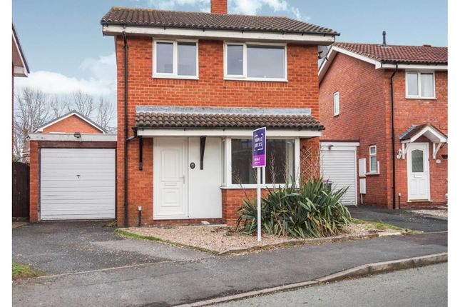 Thumbnail Detached house for sale in Glade Way, Telford