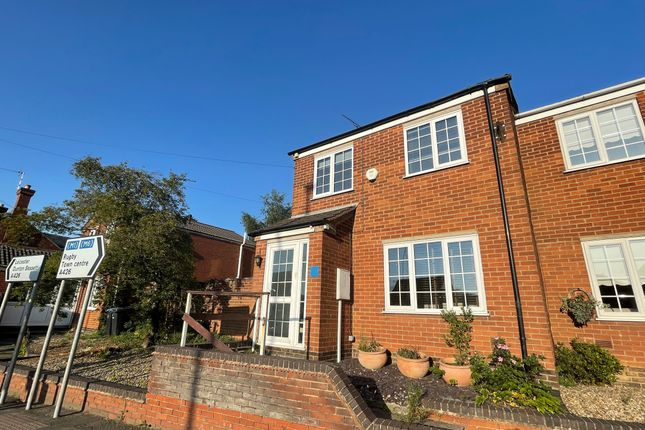 3 bed semi-detached house for sale in Market Street, Lutterworth, Leicestershire LE17
